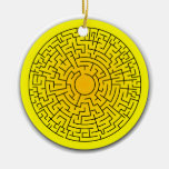 Sunshine Maze Ornament