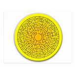 Sunshine Maze Post Cards