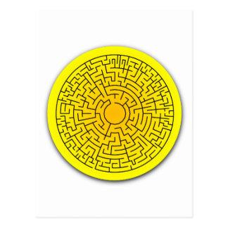 Sunshine Maze Postcard