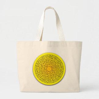 Sunshine Maze Tote Bag