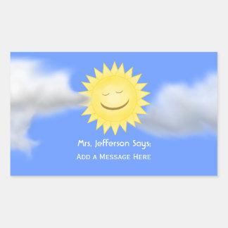 Sunshine Message Stickers