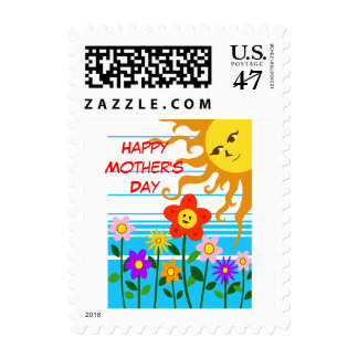 Sunshine Mother's day Postage