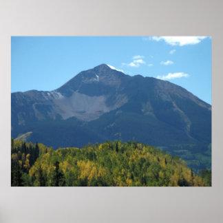 Sunshine Mountain Print