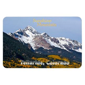 Sunshine Mountain ~ Telluride, Colorado Rectangular Photo Magnet