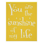 Sunshine of My Life Poster
