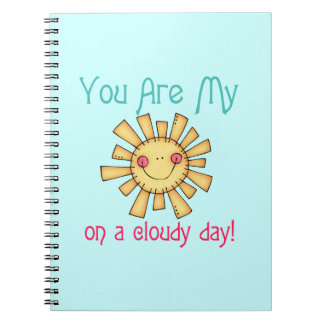 Sunshine on a Cloudy Day Notebook