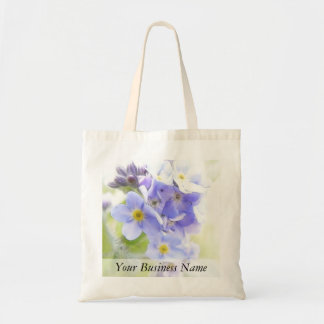 Sunshine On Blue Forget Me Nots Tote Bag