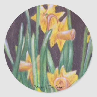 Sunshine on My Soul Daffodils STICKERS