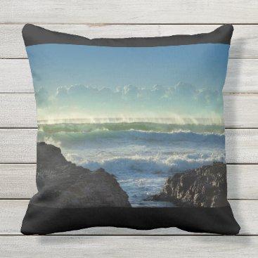 Beach Themed Sunshine on the Beach Outdoor Pillow