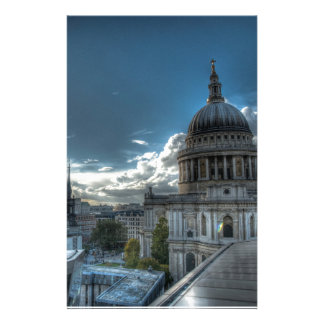 Sunshine over St Paul s Cathedral London Personalised Stationery