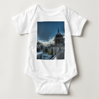 Sunshine over St. Paul's Cathedral, London Baby Bodysuit