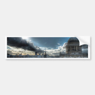 Sunshine over St. Paul's Cathedral, London Car Bumper Sticker