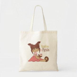 Sunshine & Pigtails Tote Bag