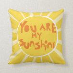 Sunshine_PillowCover_yellow Cojin