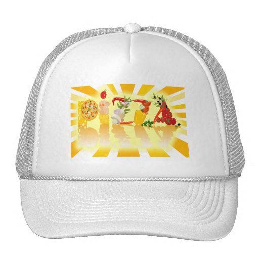 Sunshine Pizza Trucker Hats