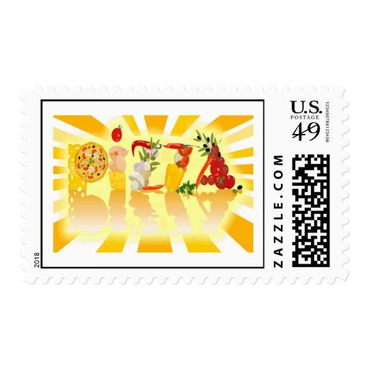 Sunshine Pizza Postage