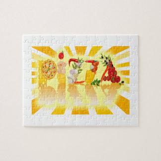 Sunshine Pizza Puzzle
