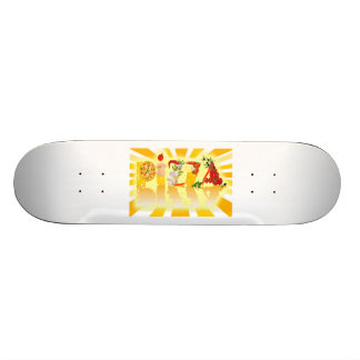 Sunshine Pizza Skate Board