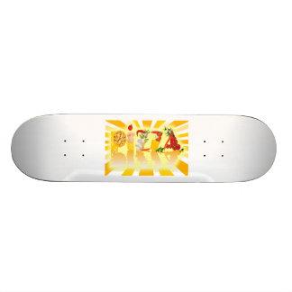 Sunshine Pizza Skate Deck