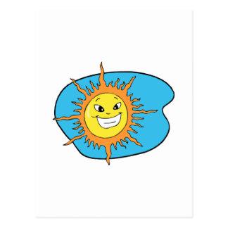 Sunshine Postcard