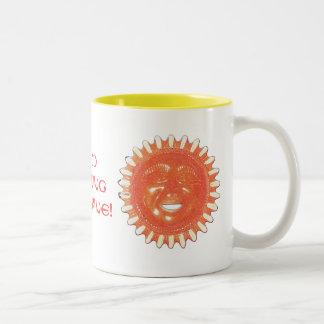 Sunshine Products Two-Tone Coffee Mug