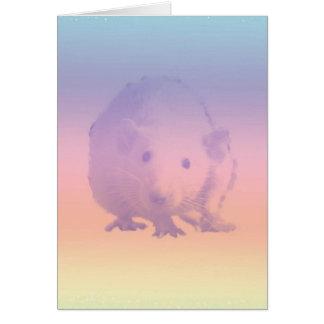 sunshine rainbow card