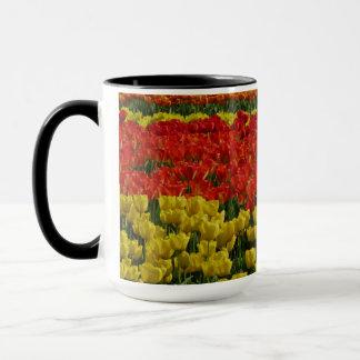Sunshine Rainbow Tulips Mug