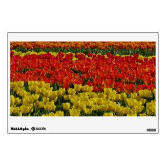 Sunshine Rainbow Tulips Wall Decal