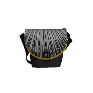 Sunshine Rays - Mini Messenger Bag Outside Print