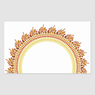 Sunshine Rectangular Sticker