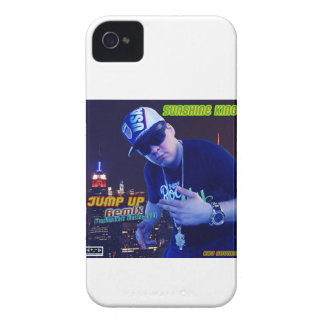 Sunshine reina - Jump Up (RMX i Phone 4G) iPhone 4 Case-Mate Fundas