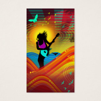 """Sunshine Rock"" Business Card"
