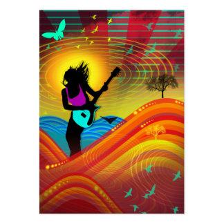 """""""Sunshine Rock"""" Chubby Card"""