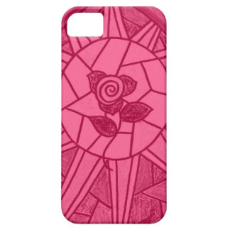 Sunshine Rose Stained Glass Look iPhone 5 Case
