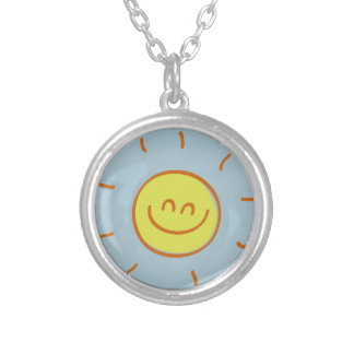 Sunshine Silver Plated Necklace