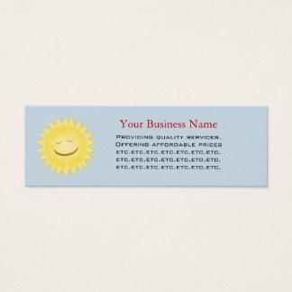Sunshine Skinny Business Card