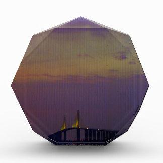 Sunshine Skyway Bridge Acrylic Award