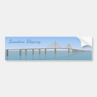 Sunshine Skyway Bridge: Tampa Bay: Bumper Sticker