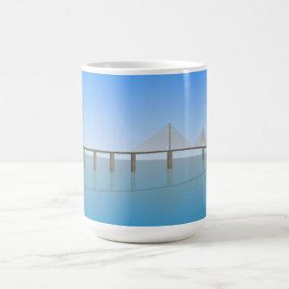 Sunshine Skyway Bridge: Tampa Bay: Classic White Coffee Mug