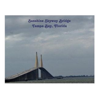 Sunshine Skyway Bridge Tampa Bay, FL. Post Card