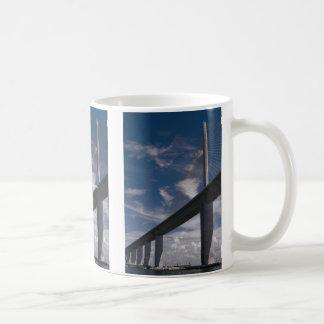 Sunshine Skyway Bridge, Tampa Bay, Florida, U.S.A. Classic White Coffee Mug