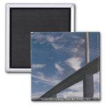 Sunshine Skyway Bridge, Tampa Bay, Florida, U.S.A. Fridge Magnets