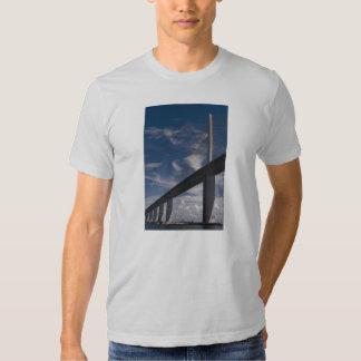 Sunshine Skyway Bridge, Tampa Bay, Florida, U.S.A. Tee Shirts