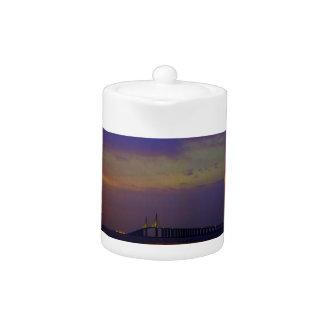 Sunshine Skyway Bridge Teapot