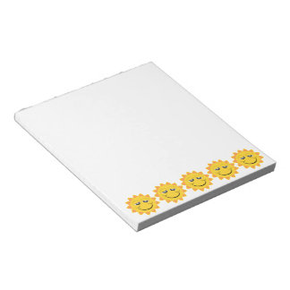 Sunshine Small Notepad