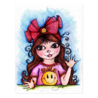 Sunshine SMILES! Postcards