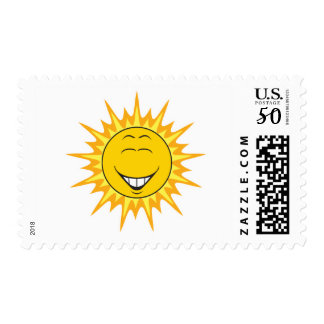 Sunshine Smiley Face Postage