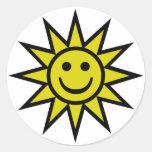Sunshine Smiley Sticker
