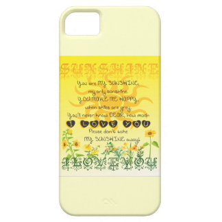 Sunshine Song iPhone 5 Cover
