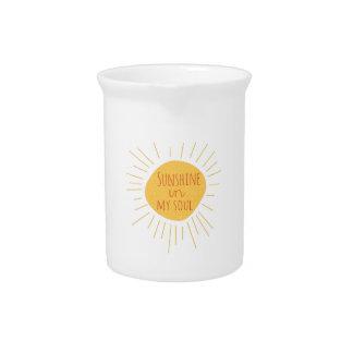 Sunshine Soul Beverage Pitchers